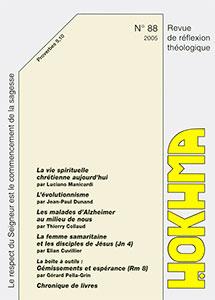 HOK88, hokhma, évolutionnisme, alzheimer, samaritaine