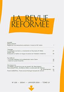 revue réformée 226
