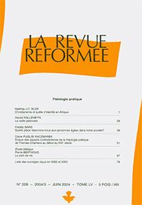 revue réformée 228