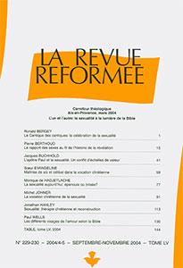 revue réformée 229