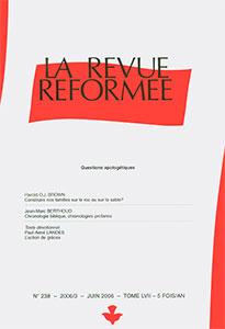 revue réformée 238