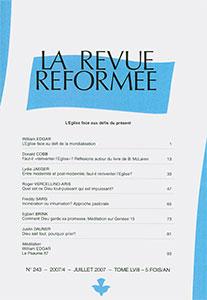 revue réformée 243