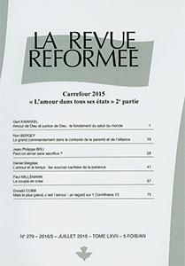 revue réformée, daniel bergèse, donald cobb