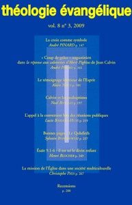 revue, théologie évangélique
