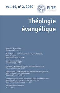 revue théologie évangélique, édifac