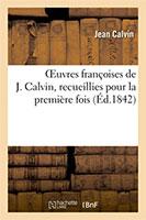 9782011853288, œuvres françoises, jean calvin