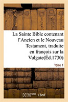 9782013035378, bible, vulgate, lemaistre de sacy