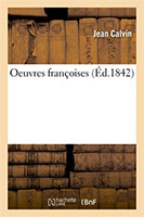 9782019688509, oeuvres françaises, jean calvin