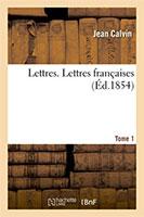 9782019688554, lettres françaises, jean calvin