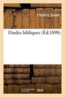 9782019996086, études bibliques, frédéric godet