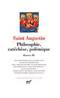 9782070115136, philosophie, catéchèse, augustin, pléiade