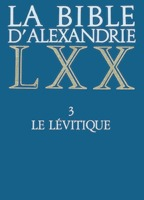9782204029728, bible d'alexandrie, lxx, lévitique
