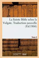 9782329025254, sainte bible, vulgate, hachette