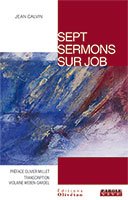 9782354791452, sept, 7, sermons, prédications, sur, job, jean, calvin, violaine, weben-dardel, collection, parole, vive