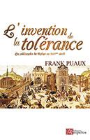 9782356180209, tolérance, philosphes, frank puaux