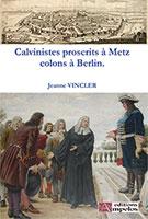 9782356180469, calvinistes, colons, jeanne vincler