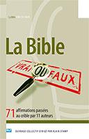 9782362492358, bible, vrai, faux