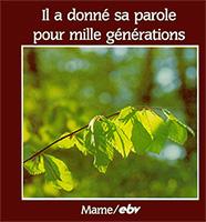 9782728903214, parole, mille générations