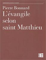 9782830910407, matthieu, commentaire, pierre bonnard