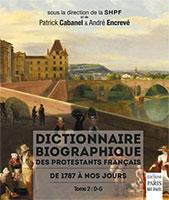 9782846212885, dictionnaire biographique, patrick cabanel