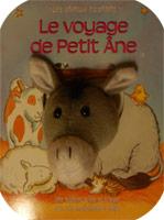 9782853002752, le, voyage, de, petit, âne, une, histoire, à, lire, et, à, jouer, avec, une, marionnette, à, doigt, les, animaux, racontent, éditions, biblio, sbf, société, biblique, française