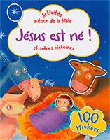 9782853007764, jésus est né, 100 stickers