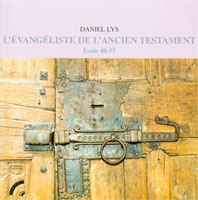 9782853041515, l'évangéliste, de, l'ancien, testament, ésaïe, 40, 55, daniel, lys, éditions, olivétan