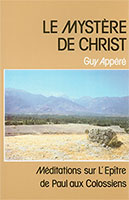 9782853310178, christ, colossiens, guy appéré
