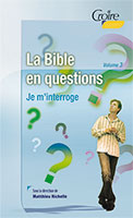 9782855091273, bible, questions, matthieu richelle