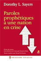 9782863144046, paroles, prophétiques, à, une, nation, en, crise, dorothy, sayers, éditions, farel, prophéties