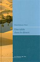 9782881520907, table, désert, watchman nee