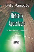9782890821057, hébreux, apocalypse, frédéric godet