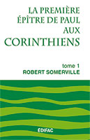 9782904407307, commentaire, corinthiens, robert somerville