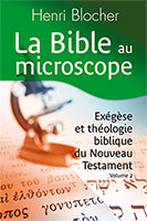 9782904407475, bible, exégèse, henri blocher
