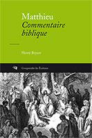 9782906090002, matthieu, commentaire biblique