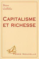 9782911260131, capitalisme, économie, brian griffiths