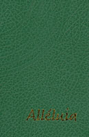 9782915245288, recueils, chants, cantiques, chansons, alléluia, petit, format, couverture, rigide, verte, avec, le, christ, dépasser, les, frontières, éditions, spéciale, paroisses, olivétan