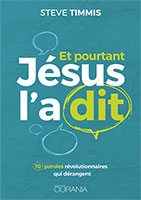 9782940335886, jésus, paroles, steve timmis