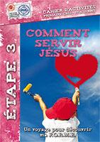 9782940413423, servir jésus, cahier d'activités