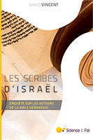 9782954708553, les scribes d'israël, david vincent