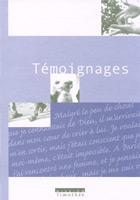 temoignages, 9782971717552