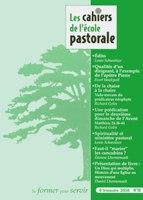 CEP70, cahiers, école pastorale
