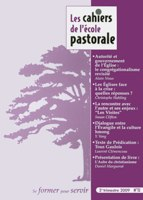 CEP72, cahiers, école pastorale