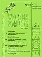 HOK39, hokhma, mort, sacrifice