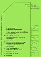 HOK70, hokhma, philosophie, théopneustie, herméneutique