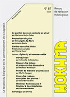 HOK87, hokhma, deuil, idoles, homosexualité