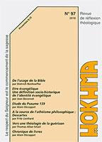HOK97, hokhma, évangélique, athéisme, guérison