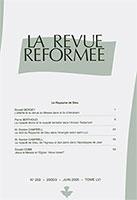revue réformée 233