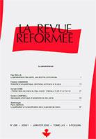 revue réformée 236