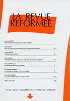 revue réformée, viviane andré, paul wells